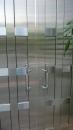 新北市住家安裝白鐵造型鐵門