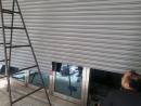 手拉鐵捲門,換新烤漆電動鐵捲門,傳統鐵捲門