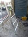 維修手拉鐵捲門撞彎,修理鐵門,鐵捲門修理