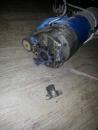 電動鐵捲門故障 , 鐵捲門馬達斷腳,換新