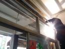 電動鐵捲門維修,鐵捲門軌道焊接,修理鐵門,北區捲門維修
