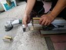 大台中地區捲門修理, 24H電動鐵門修理, 鐵捲門中柱維修(更換)
