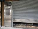 鐵捲門價格, 電動鐵捲門加裝不銹鋼門, 白鐵鐵門/不銹鋼鐵門安裝