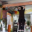 鐵捲門安裝, 鐵捲門施工, 鐵捲門改裝, 鐵捲門廠商