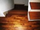 柚木拼花地板+樓梯板