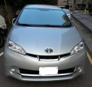 TOYOTA豐田汽車出租-WISH 2000cc(銀色)七人座
