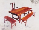 大板桌-奧坎花梨