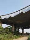 台74線鋼橋除鏽油漆工程搭架