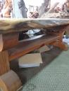 原木桌板施工 (3)