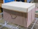 條紋收納盒