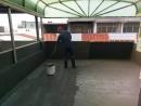 屋頂防水翻修-5.第二層防水材施