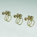 鋼絲管夾steel-wire hose clamps