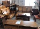嘉義原木桌椅組