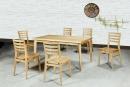 餐桌椅組(一桌六椅)