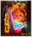 神明衣 LED亮化