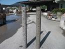 洗石子欄杆柱