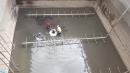 工廠污水池污泥清理後