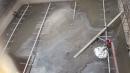 酒廠污水池清理前