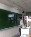 [粉刷黑板]