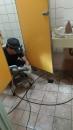 廁所排水管阻塞倒灌水