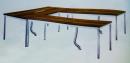 會議桌-3(不銹鋼腳)
