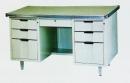 辦公桌-4(半港4尺附玻璃)