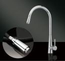 型號:HL6019   品名:弧形精品廚房大伸縮龍頭