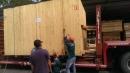平板貨櫃固定