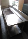 不銹鋼琉璃台 (2)