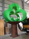FRP卷木大型裝置藝術