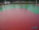 PU球場施工 面漆完工