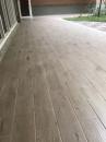 地坪貼木紋磚
