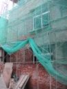 舊屋翻修-海環街外牆拉皮施工中