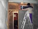 中古二手屋翻新-安裝新窗框中