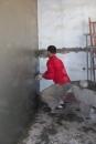 中古二手屋翻新-抹牆壁水泥幼胚中