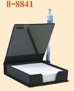 NH8841-88K皮質便條盒-發泡皮