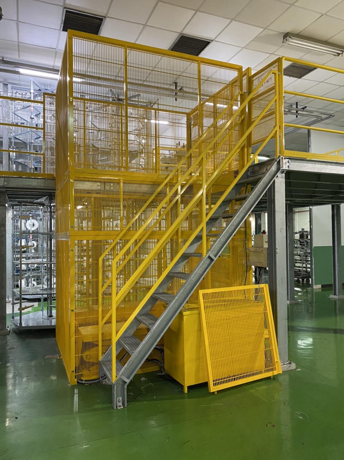 升降台 平台 樓梯-2