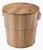木製飯斗3斤~30斤