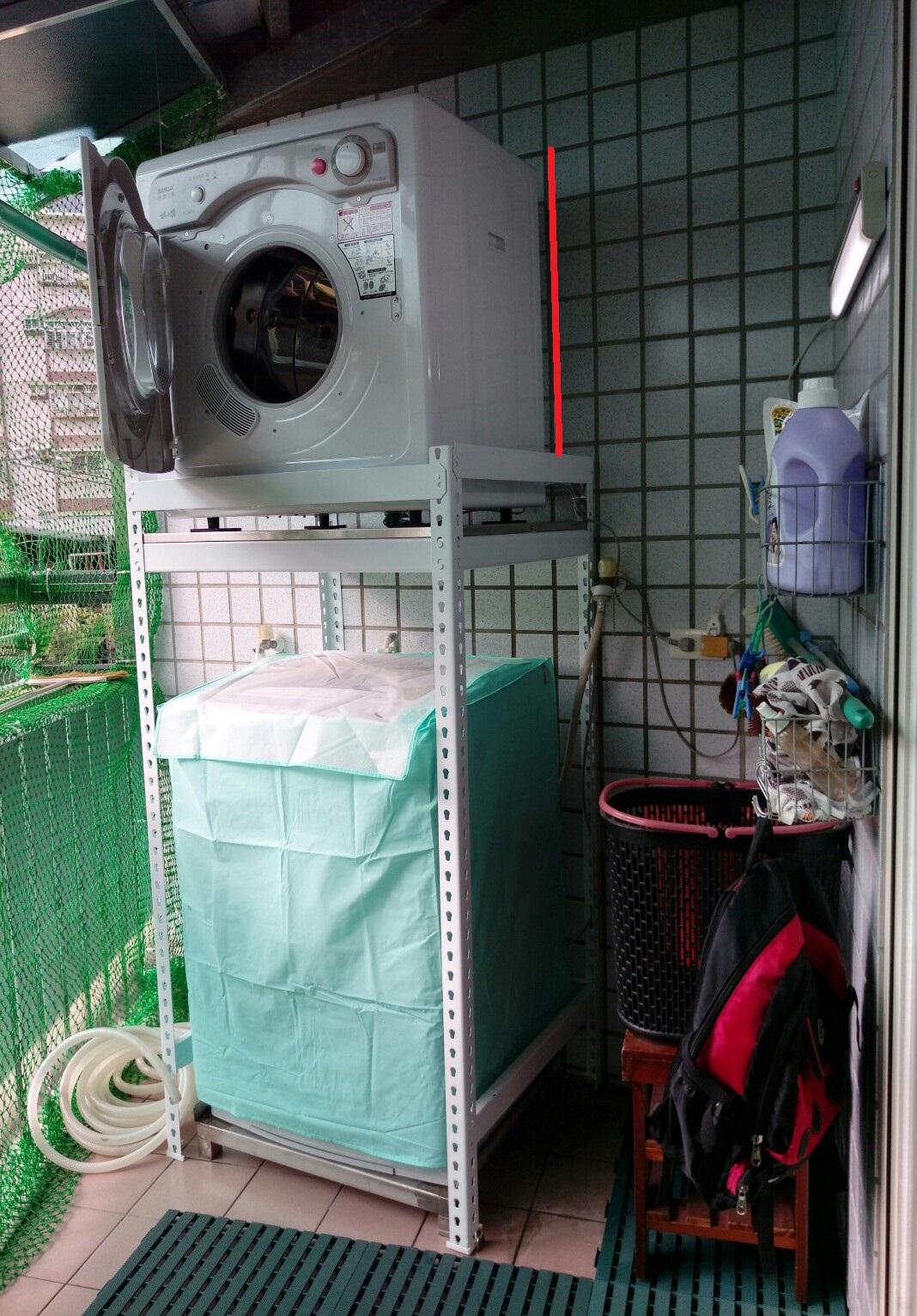 烘衣機抬高架-彤琸免螺絲角鋼,新北角鋼,新北倉儲設備 (6)