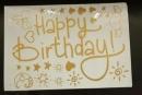 卡典貼紙-金色生日配件套裝(KD-HB05) 商品售價 $ 100