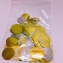 3.5cm圓型亮片(金/銀色系) 商品售價 $ 120