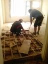 拆除木質地板