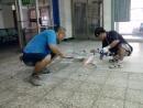 拆除塑膠地板