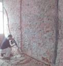 配電管前打石作業