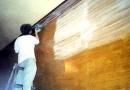噴漆前研磨作業 1