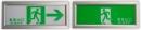 緊急出口標示燈&避難方向指示燈-崁壁插銷式 TKM905-C-360