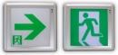 緊急出口標示燈&避難方向指示燈-超薄型燈具 TKM908-C-150