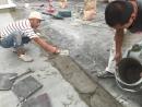 斷水施作----自癒砂漿舖平