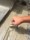 斷水施作---斷面施作自癒膠泥