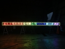 LED七彩字幕機測試